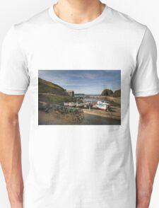 Mullion cove harbour  T-Shirt
