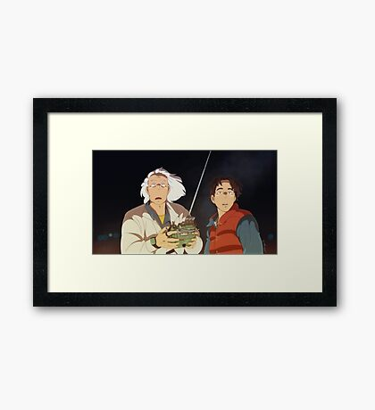 My neighbour Dr Brown  Framed Print
