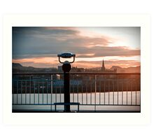 Trondheim, The View. Art Print