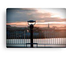 Trondheim, The View. Metal Print