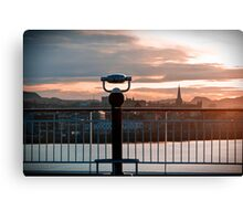 Trondheim, The View. Canvas Print