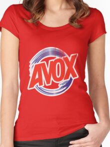 Avox Logo (distressed) Women's Fitted Scoop T-Shirt