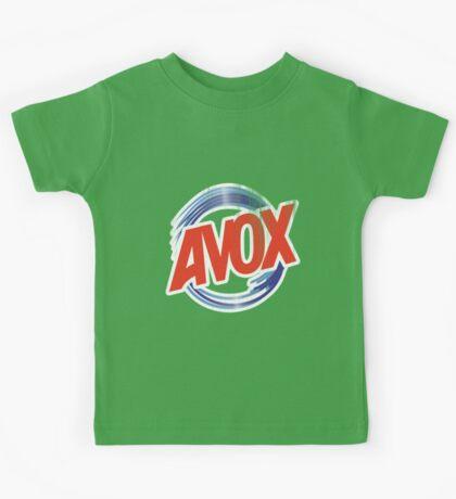 Avox Logo (distressed) Kids Tee
