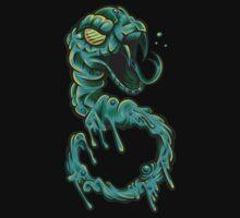 Shutter Shade Sludge Serpent One Piece - Long Sleeve