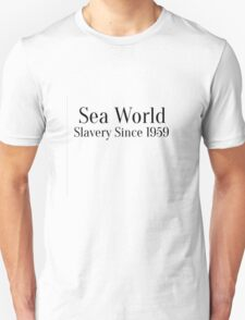 Sea World - Slavery Since 1959 T-Shirt