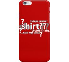 Drunken Deductions iPhone Case/Skin