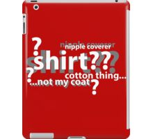 Drunken Deductions iPad Case/Skin