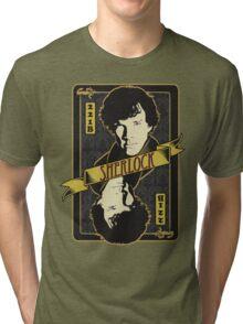221B Playing Card Tri-blend T-Shirt