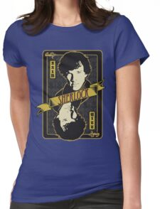 221B Playing Card Womens Fitted T-Shirt