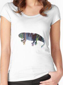 Salamander  Women's Fitted Scoop T-Shirt