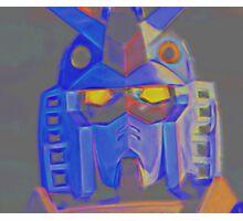 Artistic Gundam Photographic Print