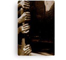 Hold on Tight Canvas Print