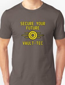 Secure Your Future With Vault-Tec T-Shirt