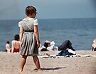 Lake Ontario beach 19570530 0017   by Fred Mitchell