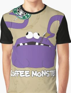 Coffee Monster Graphic T-Shirt