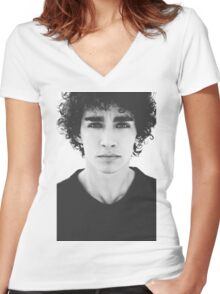 Robert Sheehan Women's Fitted V-Neck T-Shirt