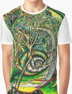The Snail Graphic T-Shirt