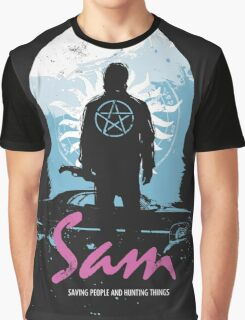 The Song Remains The Same (Sam - Supernatural & Drive) Graphic T-Shirt