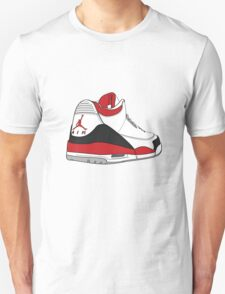 Fire Red 3's Unisex T-Shirt