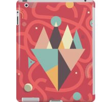 Mountains Floating in a Busy Space iPad Case/Skin