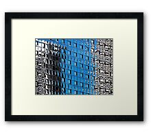 Denver reflection 25 Framed Print