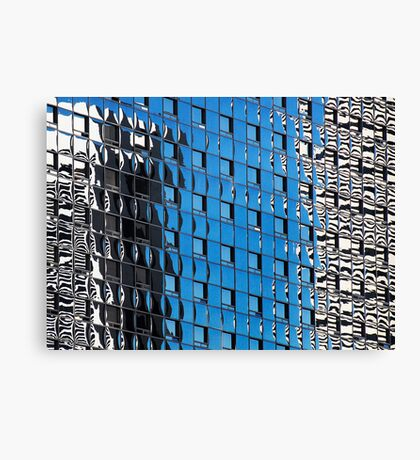 Denver reflection 25 Canvas Print