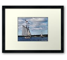 Race With the Wind Framed Print