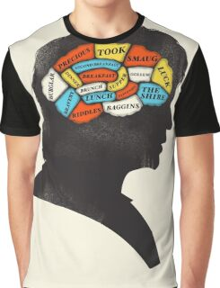 Bilbo Phrenology Graphic T-Shirt