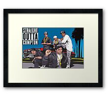Straight Outta Compton Framed Print