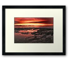 Red Planet Sunrise Framed Print