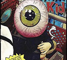 The Eyeball Kid: Comic Cover by torg