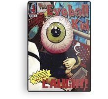 The Eyeball Kid: Comic Cover Metal Print
