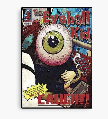 The Eyeball Kid: Comic Cover Canvas Print
