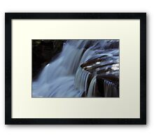 Agnes Falls Water Fall Framed Print