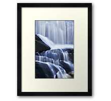 Agnes Falls Flowing Water Framed Print
