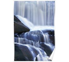 Agnes Falls Flowing Water Poster