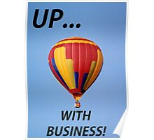 Up with Business! Poster