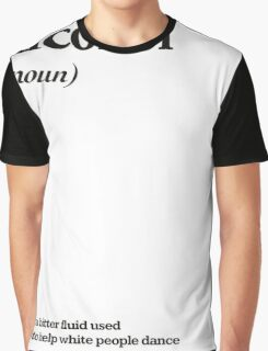 alcohol Graphic T-Shirt