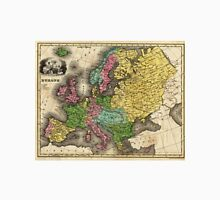 Vintage Map of Europe (1842) T-Shirt