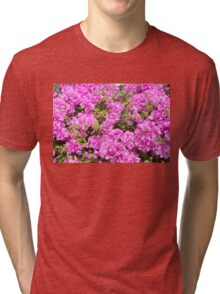 Red Blossoms Tri-blend T-Shirt