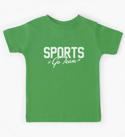 SPORTS - Go Team! Kids Tee