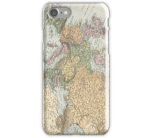 Vintage Map of Europe (1892) iPhone Case/Skin