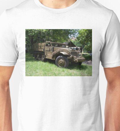 M21 Mortar Motor Carriage Unisex T-Shirt