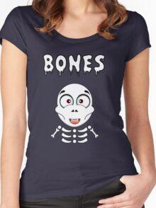 Halloween Fun Games - Bones Women's Fitted Scoop T-Shirt