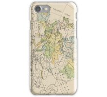 Vintage Map of Europe (1905) iPhone Case/Skin