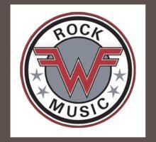 weezer logo rock music One Piece - Short Sleeve