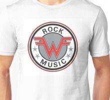 weezer logo rock music Unisex T-Shirt