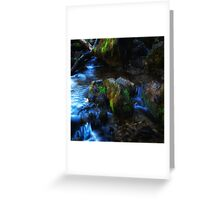 Willow River Falls 2 Greeting Card