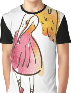 ballerina figure, watercolor Graphic T-Shirt