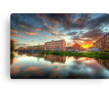 Suburban Sunset 4.0 Canvas Print
